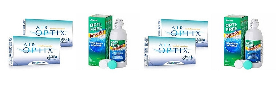 Air Optix i Opti Free Replenish promocijski popust u Livision optici
