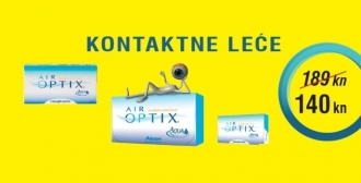 Air Optix Aqua - 25% popusta